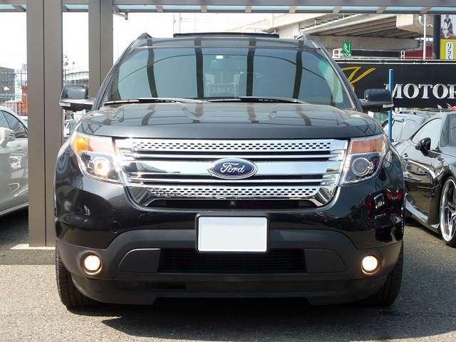 フォード フォード エクスプローラー XLT エコブースト エクスクルーシブ 黒革・限定車