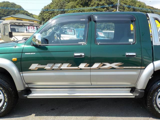 トヨタ ハイラックススポーツピック ダブルキャブ ワイド 4WD ナビ ETC キーレス