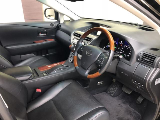 レクサス RX RX450h バージョンL SR 黒革 車検整備付 2年渡し