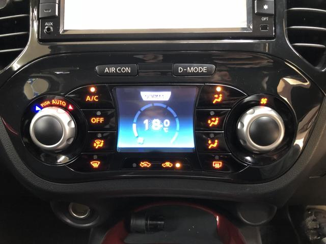 日産 ジューク 15RX タイプV ワンオーナー 純正ナビ バックカメラ