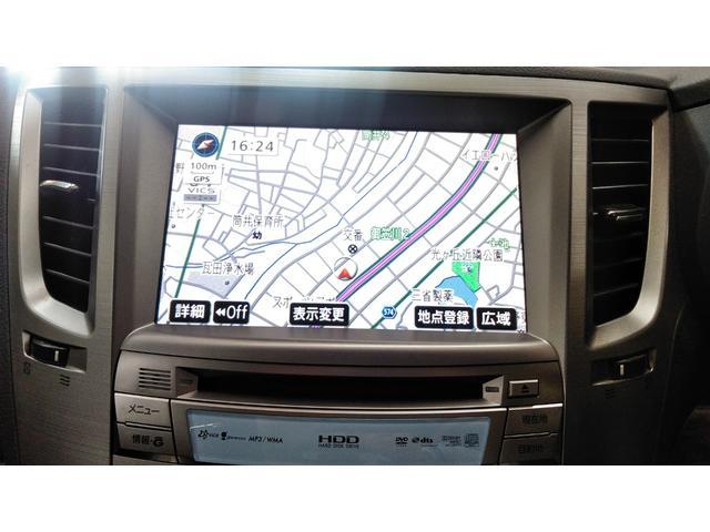 純正HDDナビ!ワンセグの視聴も可能です。パネルと一体型でデザインもすっきりと!