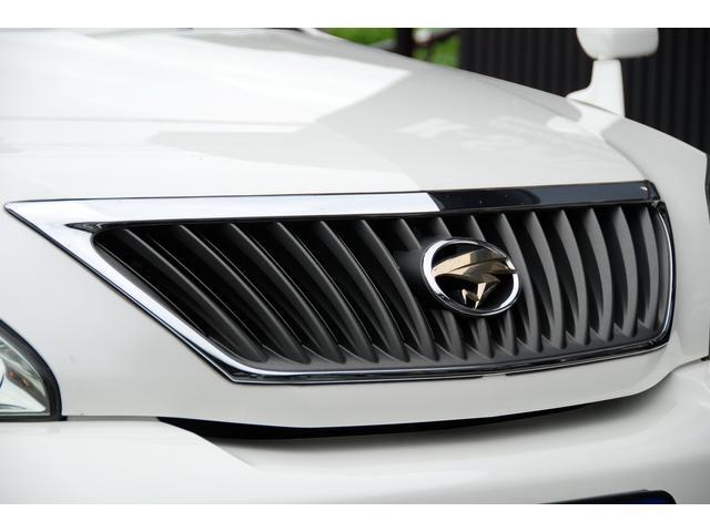 トヨタ ハリアー 240G Lパッケージ OP黒革パワーシート メーカーHDD