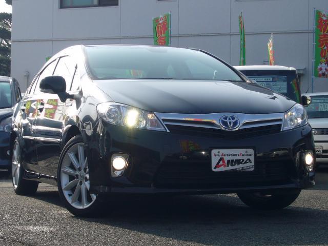 トヨタ SAI G HDDマルチ 黒革シート LEDヘッドライト