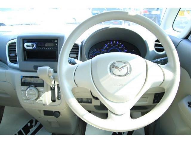 マツダ フレアワゴン XS 自動ブレーキ 電動スライドドア スマートキー