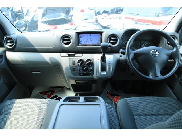 日産 NV350キャラバンバン ロングDX 9人乗り 純正ナビ ワンセグTV