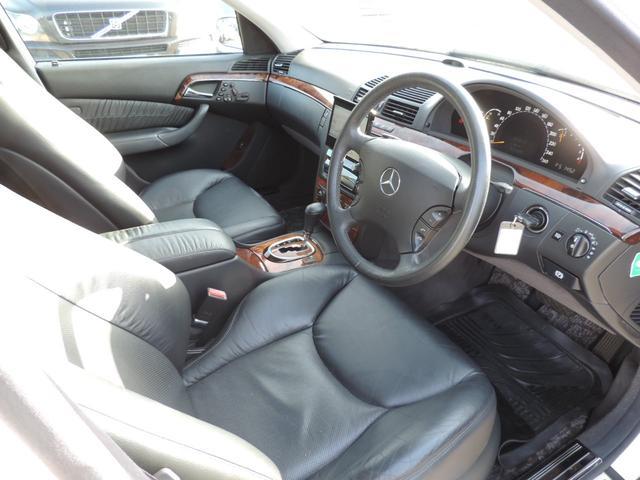 S350 黒革パワーシート 社外ナビ サンルーフ(10枚目)