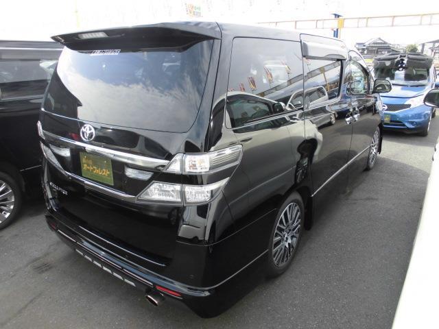 トヨタ ヴェルファイア 2.4Z ゴールデンアイズ9型地デジ10型後席モニターETC