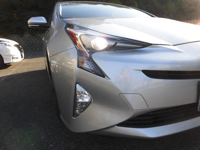 トヨタ プリウス Sツーリングセレクション 1オーナー車 トヨタセーフティS