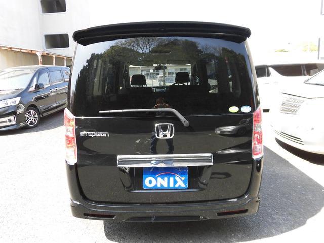 ホンダ ステップワゴン G HIDエディション 前後モニター 両側電動スライドドア