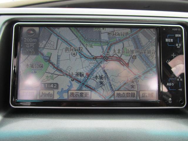 2.4アエラス Gエディション 両側Pスライドドア イモビライザー フルセグHDDナビ DVD再生 オットマン 3列シート クルーズコントロール リア席モニター Bモニタ ETC装備 HIDヘッドライト スマートキー Pスタート(10枚目)