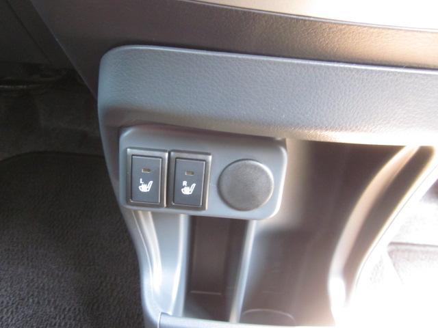 シートの座面を温めるシートヒーター付です。