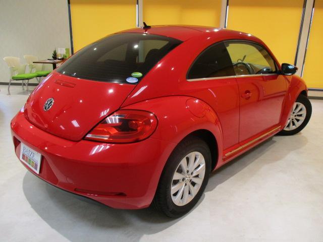 フォルクスワーゲン VW ザ・ビートル デザイン当社買取 禁煙SDナビ フルセグバックモニター