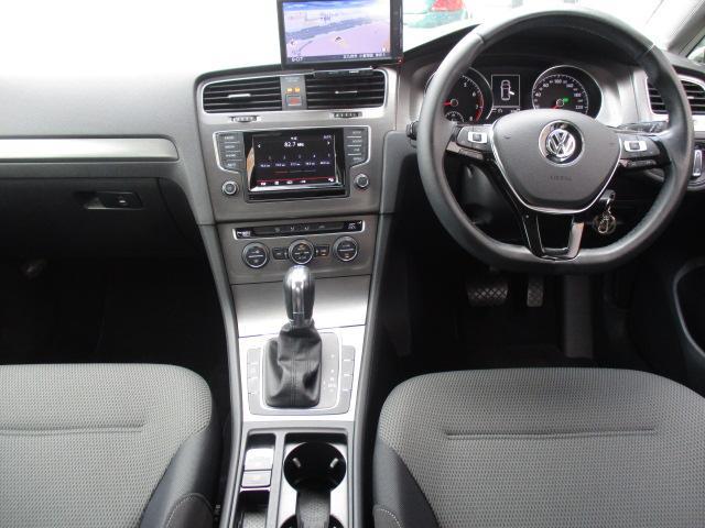 フォルクスワーゲン VW ゴルフ TSIコンフォートラインBM当社買取1オーナ社外ナビフルセグ