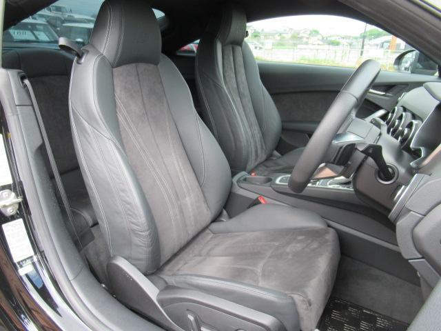 ●シートは重要なポイントです。座り心地のいいシートで運転席、助手席もリラックスしてゆったりと座れます
