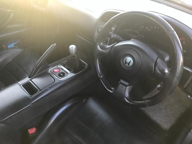 ホンダ S2000 ベースグレード 6速MT 黒革