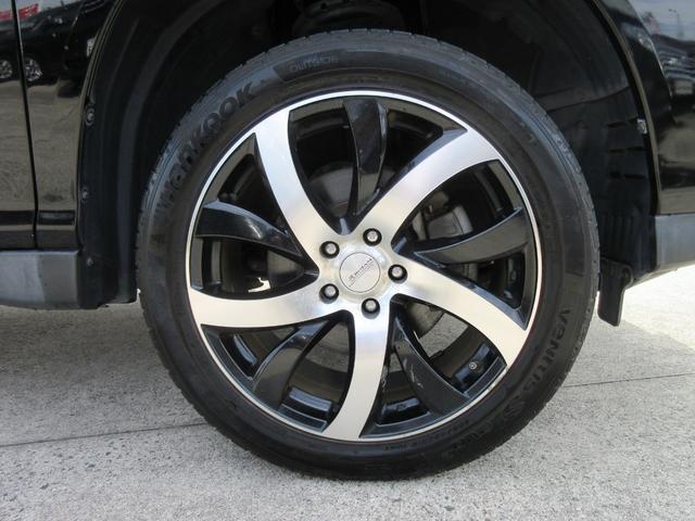 トヨタ ハリアー 240G Lパッケージ HDDナビ 社外19インチアルミ