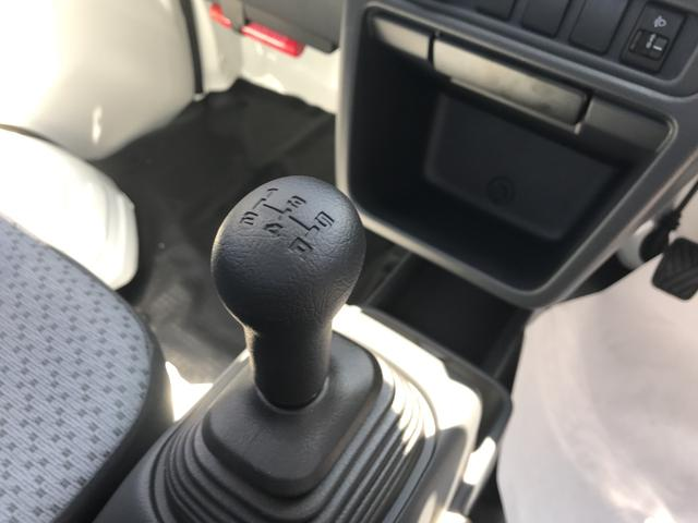 届出済未使用車 メーカー保証付 エアコン 5MT(16枚目)