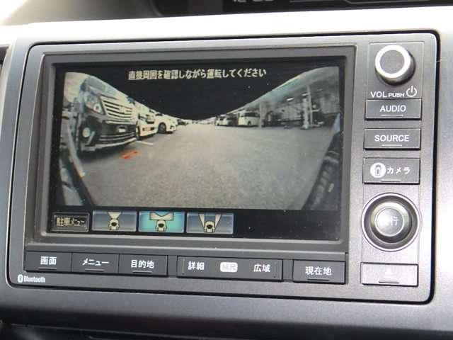 ホンダ ステップワゴンスパーダ Z クールスピリット 純正HDDナビ マルチビューカメラ ETC
