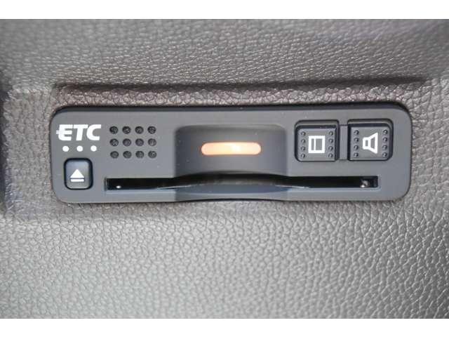 ホンダ純正ビルトインタイプの音声ETC装着ですので、料金所もスムーズに通過できます。