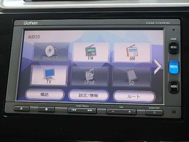 ホンダ フィット 13G・Fパッケージ ファインエディション 純正メモリーナビ フ
