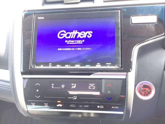 1.5 ハイブリッド F 助手席回転シート車 ホンダ純正メモリーナビ フルセグテレビ(3枚目)
