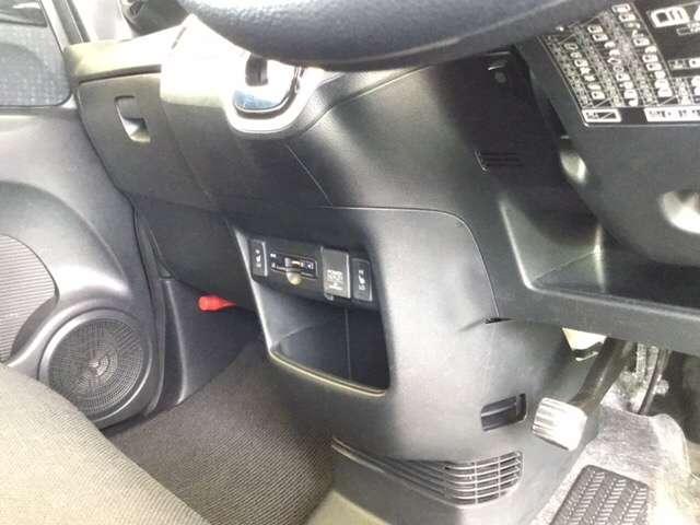 G SSブラックスタイルパッケージ ホンダ純正メモリーナビ フルセグテレビ スマートキー フルセ 盗難防止システム ナビTV リアカメラ ETC メモリーナビ シートヒーター アイドリングストップ 横滑り防止装置 ABS AC キセノン(13枚目)
