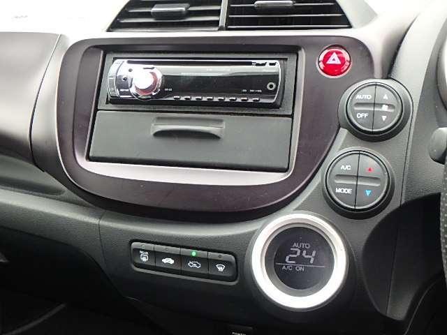ホンダ フィット RS CDチューナー パドルシフト