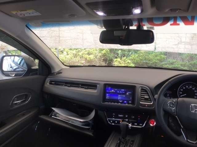 X・ホンダセンシング ホンダ純正メモリーナビ フルセグTV バックカメラ LEDヘッドライト クルコン アルミホイール スマートキー アイドリングストップ 盗難防止装置 CD サイドエアバッグ(4枚目)