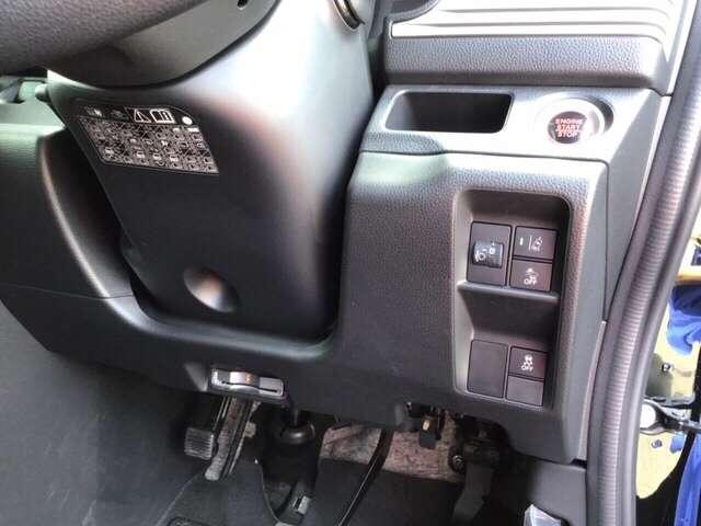 高速で便利なETCがあり、横滑りを防ぐVSAなどのスイッチは、運転席の右側、手の届きやすい位置にあります。
