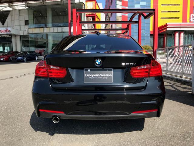 320i Mスポーツ D車 1オーナー 黒革ステアリング(6枚目)
