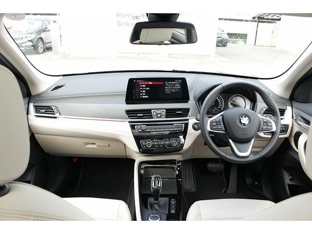 xDrive 18d xライン パノラマガラスサンルーフ オイスターレザー 19インチホイール LEDヘッドライト アクティブクルーズコントロール i-Driveナビゲーション バックカメラ USB/Bluetoothオーディオ 衝突警告ブレーキ(12枚目)