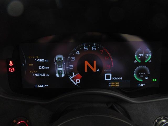 ベースグレード 1オーナー ディーラー車 右ハンドル サーキット未走行車両 MOSカーボンルーフスコープ ソフトクローズドア フロントリフティング アルカンターラLTインテリア グロスブラックアルミホイール(9枚目)
