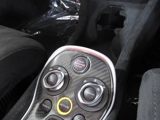 ベースグレード 1オーナー ディーラー車 右ハンドル サーキット未走行車両 MOSカーボンルーフスコープ ソフトクローズドア フロントリフティング アルカンターラLTインテリア グロスブラックアルミホイール(12枚目)