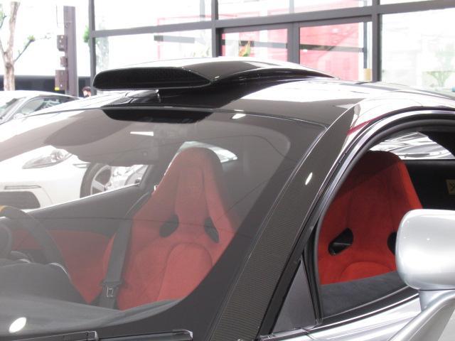 ベースグレード 1オーナー ディーラー車 右ハンドル サーキット未走行車両 MOSカーボンルーフスコープ ソフトクローズドア フロントリフティング アルカンターラLTインテリア グロスブラックアルミホイール(31枚目)