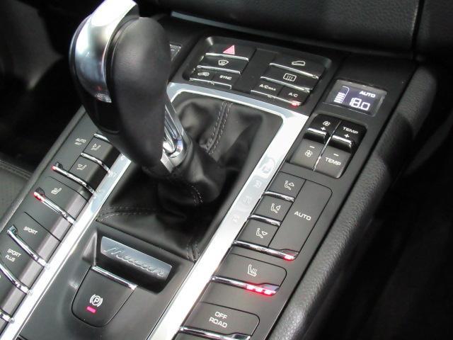 マカンS 1オーナー スポーツクロノパッケージ ブラックレザーシート エントリー&ドライブ Turbo19インチAW 前後パーキングアシストセンサー PCMナビ バックカメラ クルーズコントロール(10枚目)