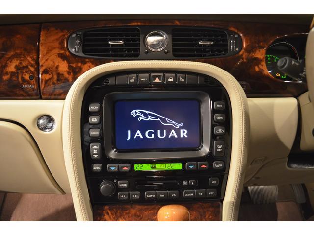ジャガー ジャガー XJ8 3.5 本革 Pセンサー 純正ナビ ETC 記録簿