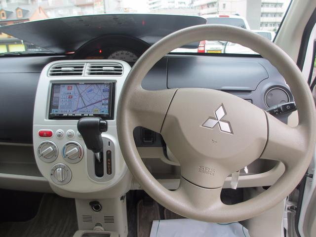 三菱 eKワゴン ジョイフィールド ワンセグナビ ベンチシート キーレス CD