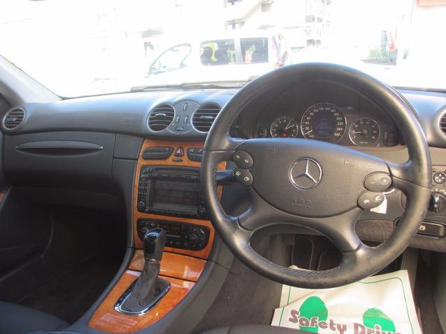 メルセデス・ベンツ M・ベンツ CLK240 パワーシート HID キーレス アルミ CD