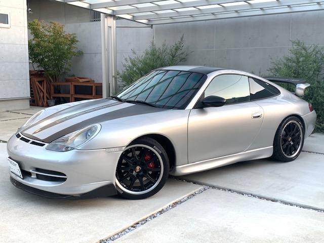 911カレラ ティプトロニックS GT3仕様 F-Sエアロ Rスポ 18インチAW テール サス ブラックレザーシート(5枚目)