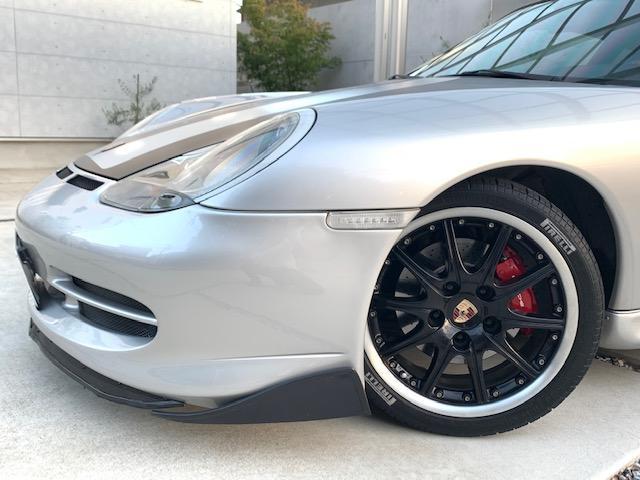 911カレラ ティプトロニックS GT3仕様 F-Sエアロ Rスポ 18インチAW テール サス ブラックレザーシート(6枚目)