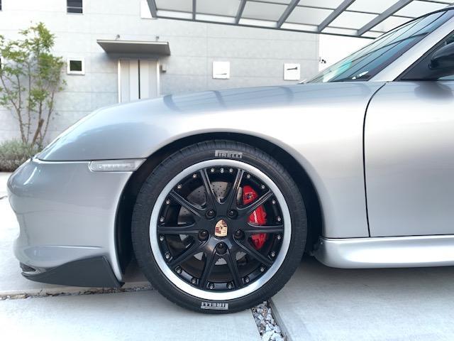 911カレラ ティプトロニックS GT3仕様 F-Sエアロ Rスポ 18インチAW テール サス ブラックレザーシート(15枚目)