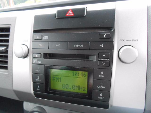 スズキ ワゴンR FX-Sリミテッド 純正CDMDデッキ キーレス ETC