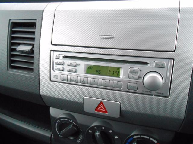 スズキ ワゴンR FX 純正CDデッキ キーレス ベンチシート