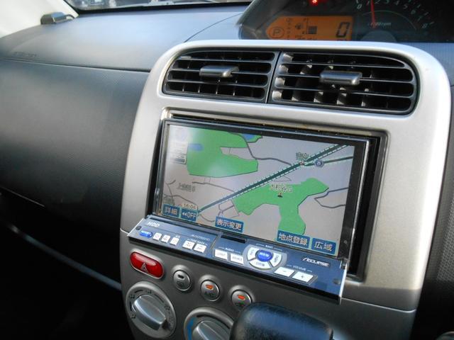 日産 オッティ RS 社外HDDナビ ディスチャージヘッドライト DVD再生