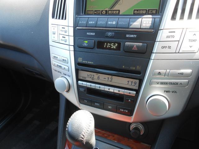 トヨタ ハリアー 240G 純正HDDナビ キーレス HIDライト