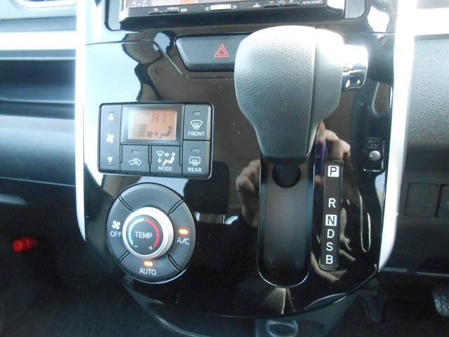 ダイハツ タント カスタムX 社外メモリーナビ 左側パワースライド LED