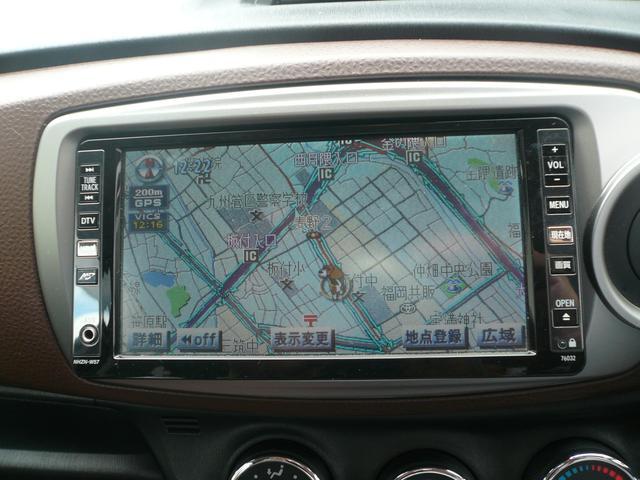 トヨタ ヴィッツ ジュエラ 1年保証 HDDナビ フルセグテレビ ETC