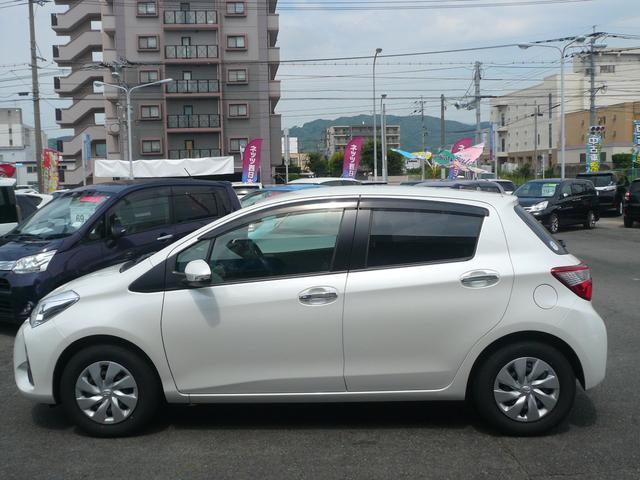 トヨタ ヴィッツ F セーフティーエディション 当社社用車