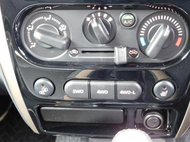 ランドベンチャー 4WD ハード背面タイヤカバー 合成皮革シート 純正アルミホイール ブルートゥースオーディオ付き純正SDナビ USB入力ケーブル シートヒーター 記録簿(11枚目)