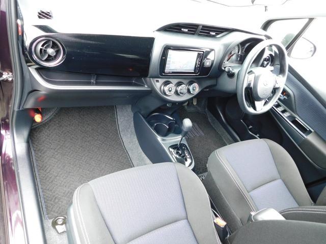 F セーフティーエディション トヨタセーフティーセンス スマートキー 社外LEDライト 社外SDナビ ブルートゥースオーディオ バックモニター ビルトインETC VSC アイドリングストップ ワンオーナー(12枚目)